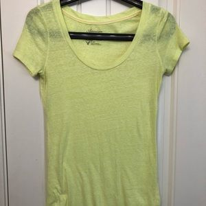 Women's American Eagle swoop neck shirt size Small